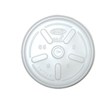 Heavy Duty Plastic Lids for 12oz Cups