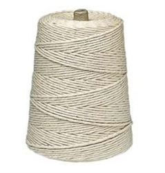 Cotton Polyester Blend 2 lb. Cone Twine 16 Ply