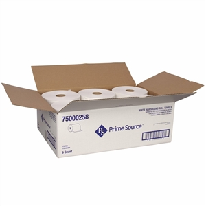 Hard Roll White Paper Towel - 7.88 in. x 800 Ft.