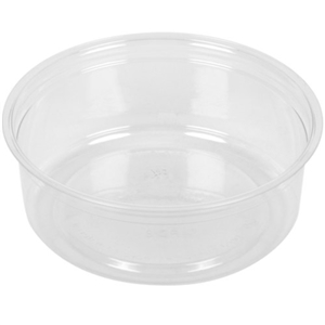 Clear Polypropylene Deli Cup - 8 oz.