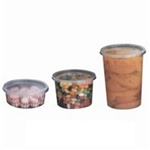 Clear X-Large Deli Polypropylene Cup - 16 oz.