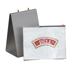Our Deli Reclosable Deli Bags Saddle Pak - 10 in. x 8.25 in.