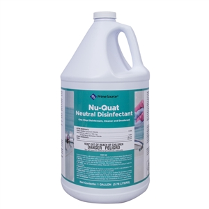 Nu-Quat Neutral Disinfectant Cleaner - 1 Gal.