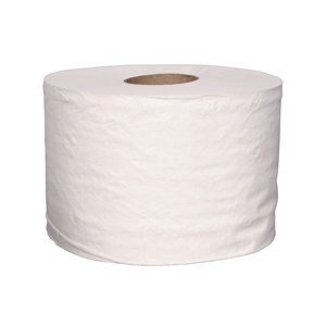 White Bath Tissue - 3.87 in. x 4 in.
