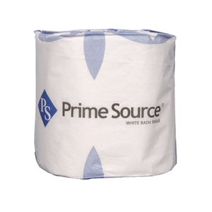 Economy Single Roll White 2 Ply Toilet Tissue - 4.5 in. x 3.04 in.