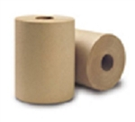 Green Source Hard Wound 1 Ply Natural Roll Towel - 7.75 in. x 300 ft.