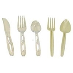 Medium Weight White Polypropylene Fork Bulk Pack