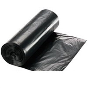 Low Density Liners Coreless Roll Black - 12-16 Gal.