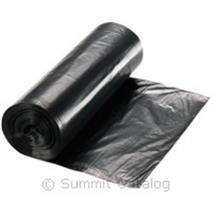 Low Density Liners Coreless Roll Black - 43 in. x 48 in.
