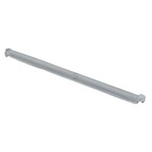 Polystyrene Jumbo Straw Clear Paper Wrapped Boxed - 7.75 in.