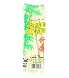 8 Inch Bamboo Skewers