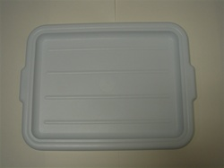 White Bus Tray Cover