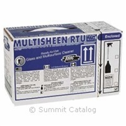 Multisheen Rtu Glass Cleaner - 3.17 Gal.