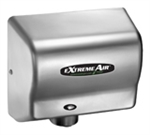 Extremeair GXT Series Satin Chrome Finish Steel Cover Hand Dryer - 5.63 in. x 10.13 in.