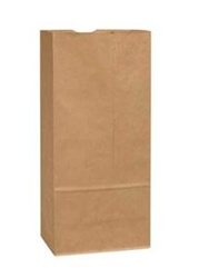 Duro Tiger Grocery Bags Kraft Paper 5 in.