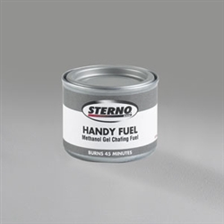 Sterno Handy Fuel Methanol Gel 45 Minutes Room Service
