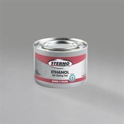 Sterno Green Ethanol Gel 2 Hour Chafing Fuel