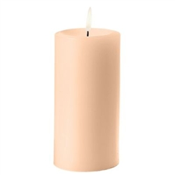 Sterno Ivory Pillar Candle - 3 in. x 6.5 in.