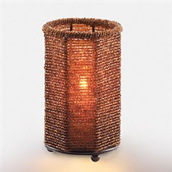 Sterno 12 Hour Dark Amber Beaded Lamps - 5 in.