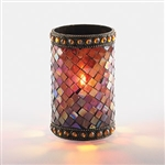 Sterno 50 Hour Amber Beaded Mosaic Lamp - 4.75 in.
