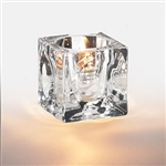Sterno Citadel Mini Square Glass Lamp - 2.5 in.