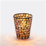 Sterno Fall Mosaic Lamp - 3.25 in.