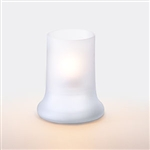 Sterno Frost Glass Lamp - 4.5 in.