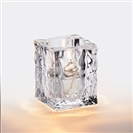 Sterno Clear Ice Cube Lamp - 4 in.