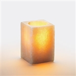Sterno Square Alabaster Large Lamp - 4 in.