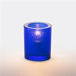 Sterno Blue Mini Bubbles Lamp Round - 3.25 in.