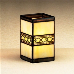 Sterno Stained Glass Lamp - 4.25 in.