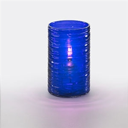 Sterno Purple Twister Lamp - 5 in.