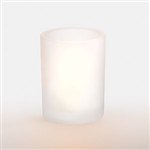 Petite Votive Glass Lamp Frost - 4 in.