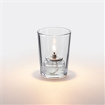 Sterno Petite Clear Tall Votive Glass Lamp - 3 in.