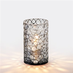 Sterno Round Mini Bubble Resin Lamp - 4 in.