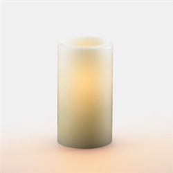 Sterno Ivory Hollow Pillar Lamp - 5.5 in.
