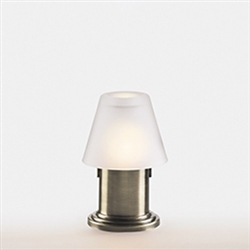 Sterno Antique Bronze Cylinder Base Lamp - 5.75 in.