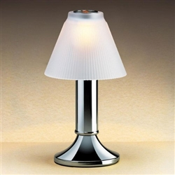 Sterno Paige Chrome Finish Fine Dining Lamp Base