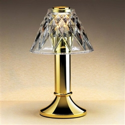 Sterno Paige Polished Brass Finish Fine Dining Lamp Base
