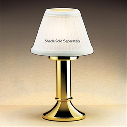 Sterno Paige II Polished Brass Base Lamp