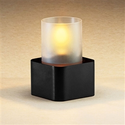 Sterno Black Finish Plaza Base Lamp