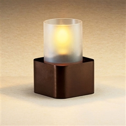 Sterno Bronze Finish Plaza Base Lamp