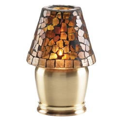 Sterno Satin Brass Vase Base Lamp