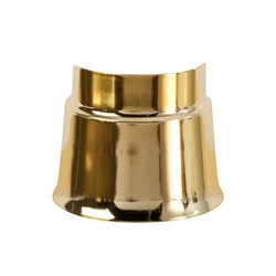 Sterno Sleeve SL90 Polished Brass Finish Lamp Base