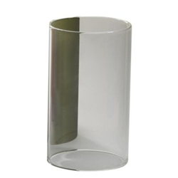 Sterno Clear Cylinder Globe - 4 in. x 2.38 in.