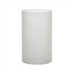 Sterno Frost Cylinder Globe - 4 in. x 2.38 in.