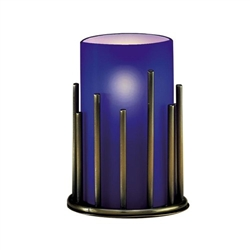 Sterno Blue Cylinder Globe - 5 in. x 3 in.