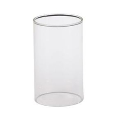 Sterno Clear Cylinder Globe Table Lamp - 5 in. x 3 in.