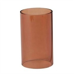 Sterno Nutmeg Cylinder Globe Table Lamp - 5 in. x 3 in.