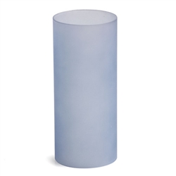 Sterno Blue Cylinder Globe Lamp - 6 in. x 2.5 in.
